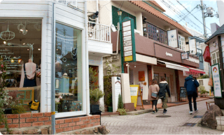 岡本駅付近のお店