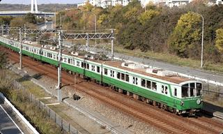 神戸市営地下鉄 学園都市付近