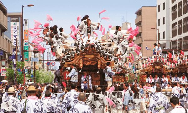東灘のだんじり祭り
