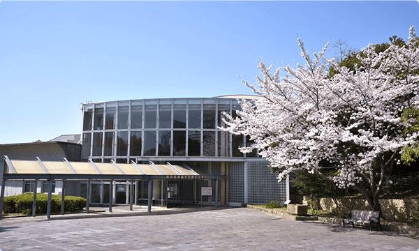 桜の神戸市埋蔵文化財センター